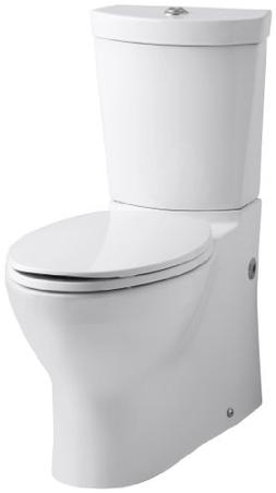 Kohler K-3654-0 Persuade Two-Piece Elongated Toilet with Dua