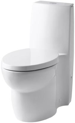 KOHLER K-3564-0 Saile Elongated One-Piece Toilet with Dual F