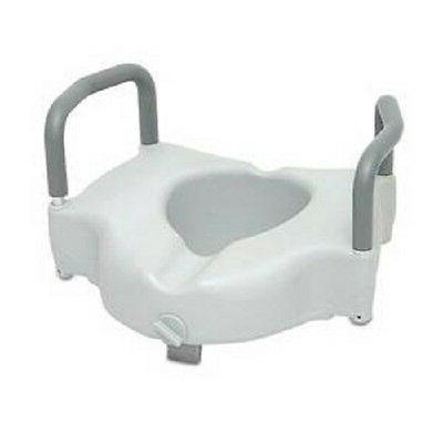1 locking raised elevated toilet