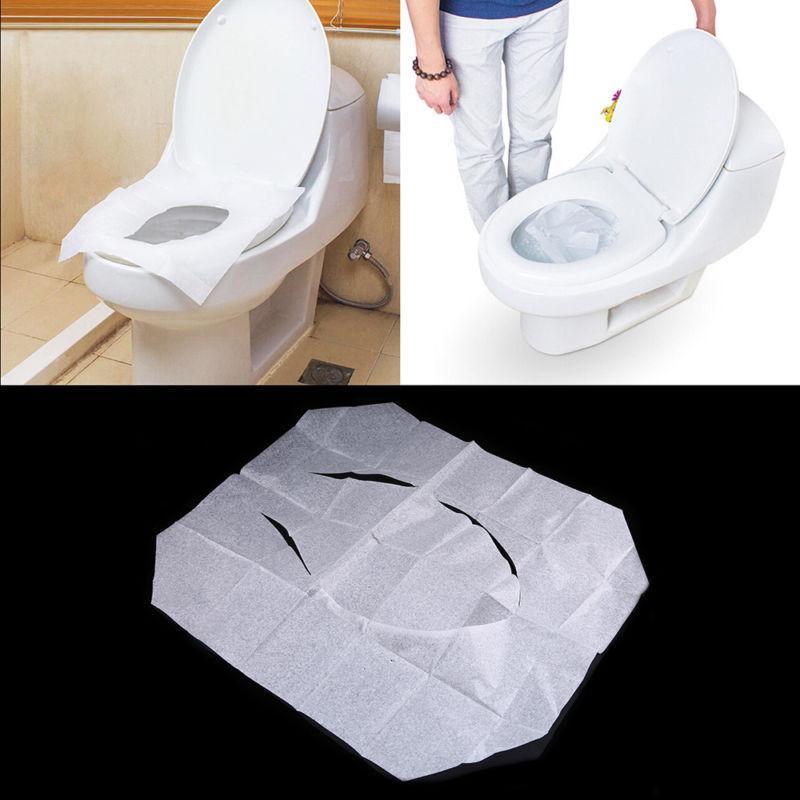 10-50pcs Disposable Toilet Paper Flushable Sanitary