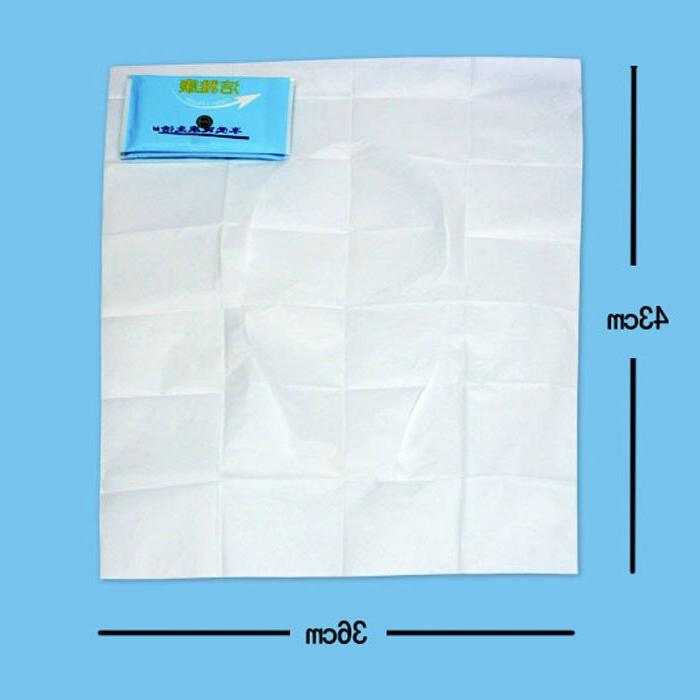 10PACK Cover <font><b>Toilet</b></font> Mat Soluble <font><b>Toilet</b></font> Tablets special wood paper
