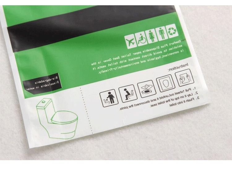 10PACK <font><b>Toilet</b></font> Cover <font><b>Toilet</b></font> Water Soluble <font><b>Toilet</b></font> <font><b>Seats</b></font> Tablets special wood paper