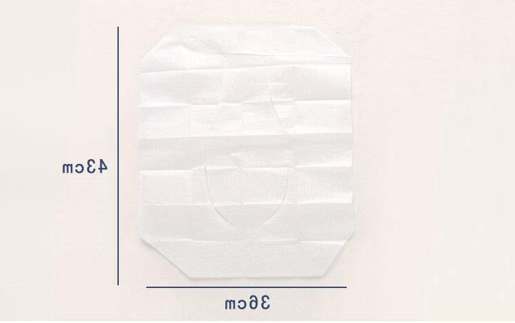 10PACK Cover <font><b>Toilet</b></font> Mat Water Soluble 10 Tablets special wood paper