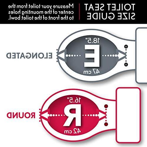 Bemis 000 400TTA000 Economy Wood Round Toilet Seat, White