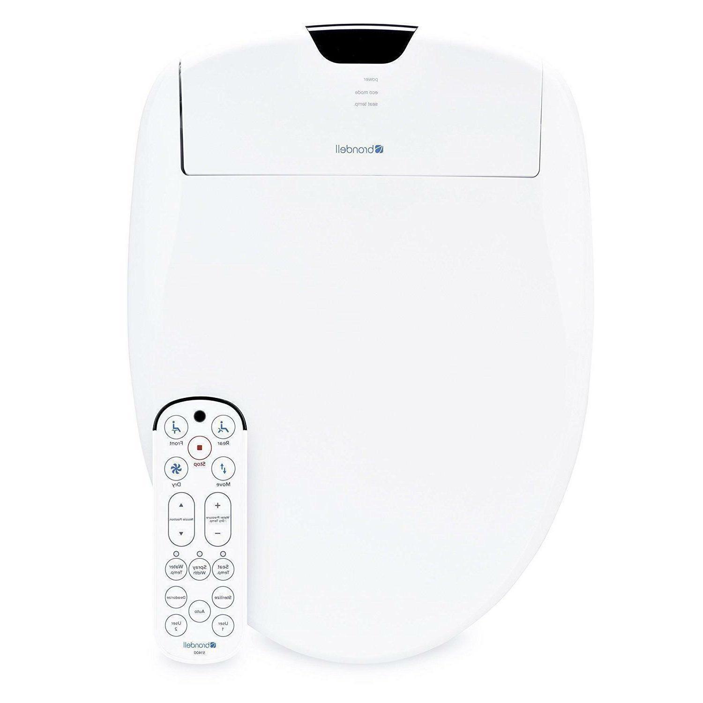 1400 luxury bidet toilet seat elongated white