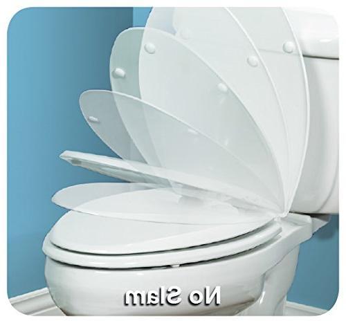 Mayfair Child/Adult Toilet Built-in Seat, Elongated, Bone
