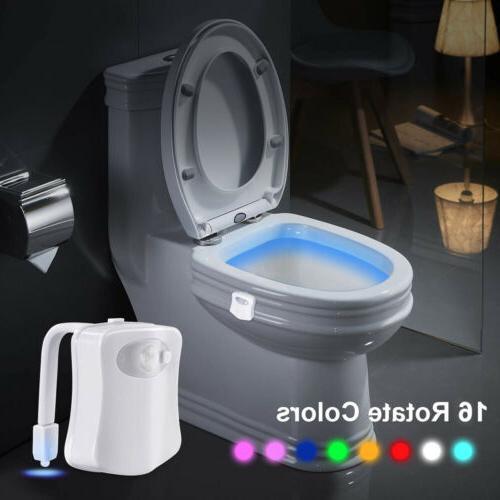 MutiColor Toilet Night LED Bathroom