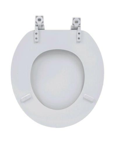 """17"""" Molded Toilet Seat Round Bathroom"""