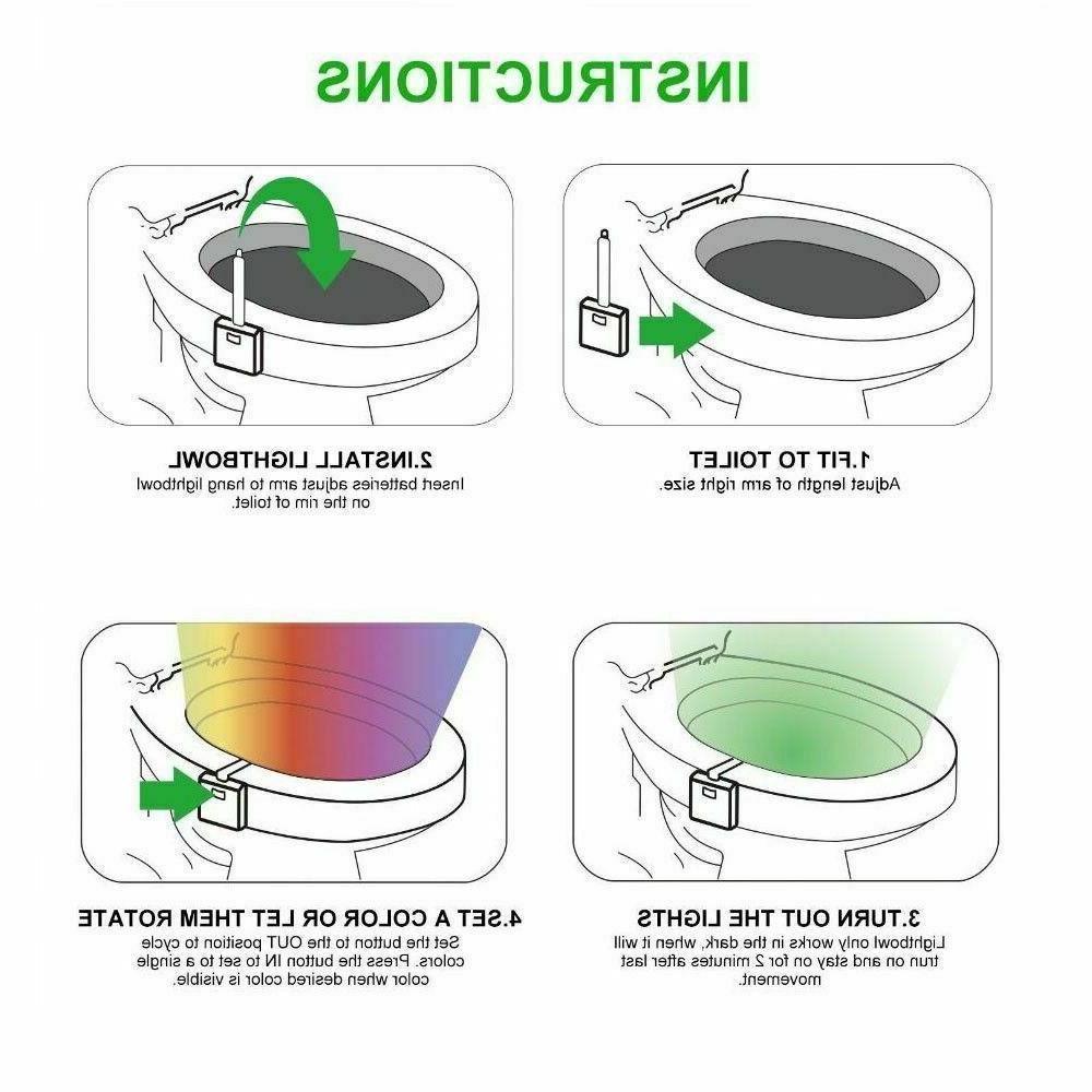 1-2 Light Motion LED Glow