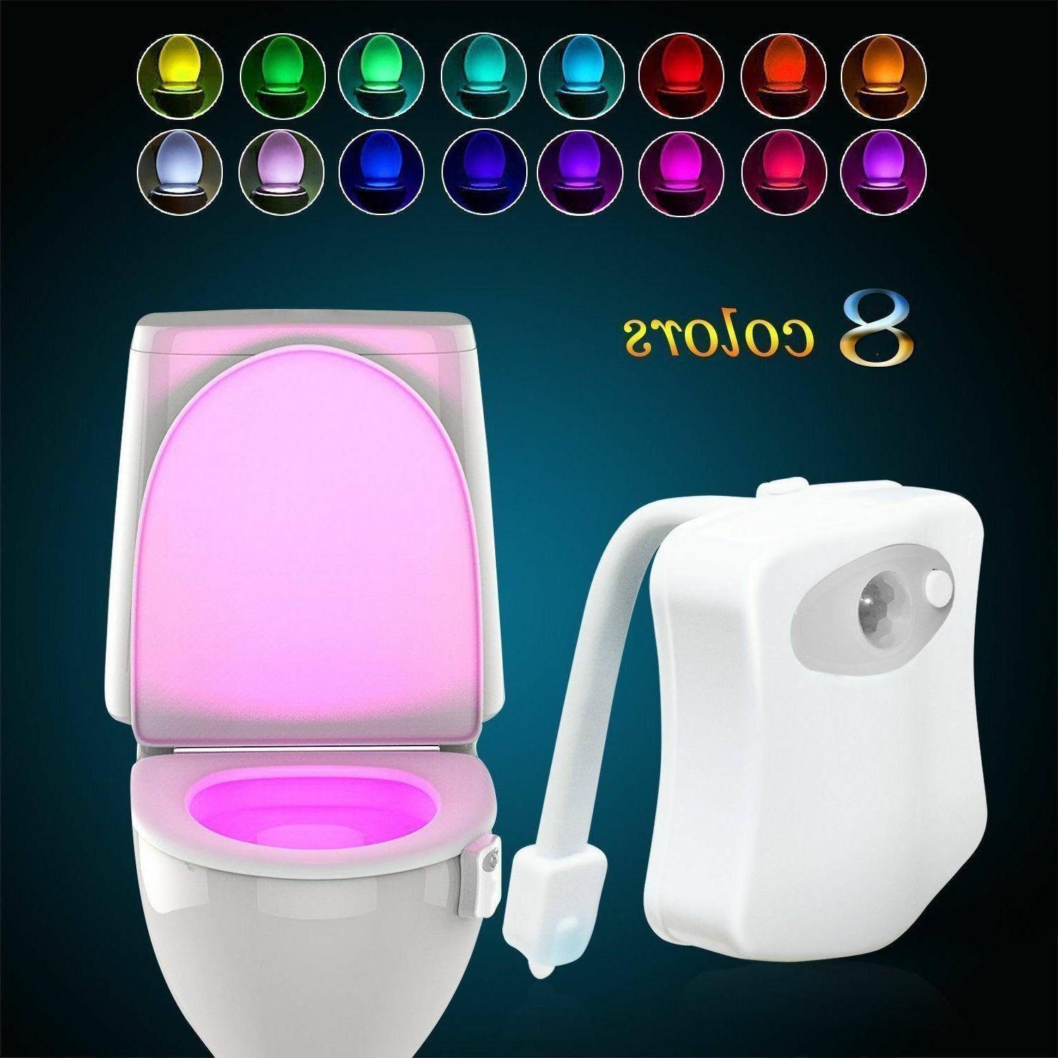 2 toilet night light motion activated 8