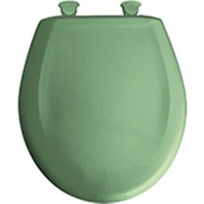Bemis 200SLOWT-025 Round Plastic Slow Close Toilet Seat - JA