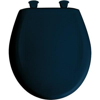 Bemis 200SLOWT-244 Round Plastic Slow Close Toilet Seat - NA