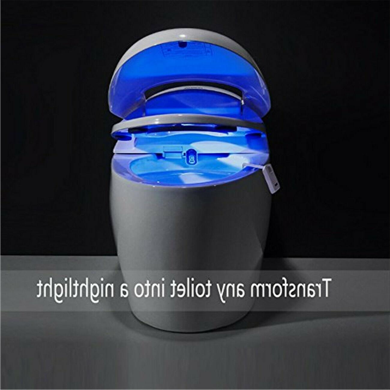 2PACK Motion 8 Changing Toilet Light