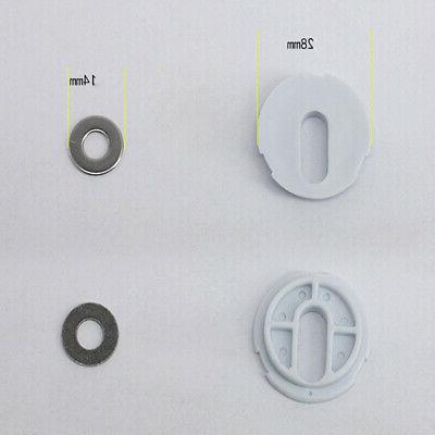 Toilet Hole Metal Fixings Top Fix Screws