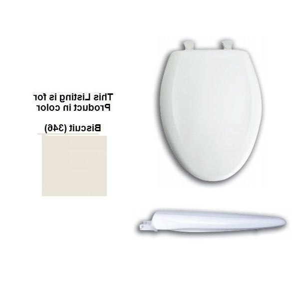 Church 380sl Elongated Whisper Close Plastic Toilet Seat W