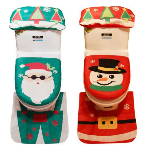 Merry Christmas & Santa Claus Bathroom Decor