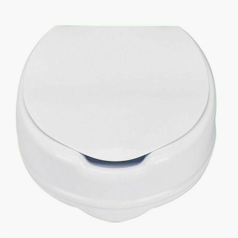 4 adjustable height medical elevated toilet seat