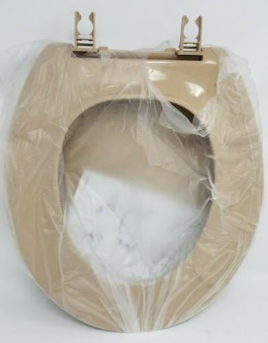 KOHLER Authentic Round-Front Toilet Seat, Mexican Sand
