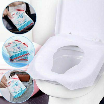 50PCS Seat Disposable Waterproof WC Pad Mat