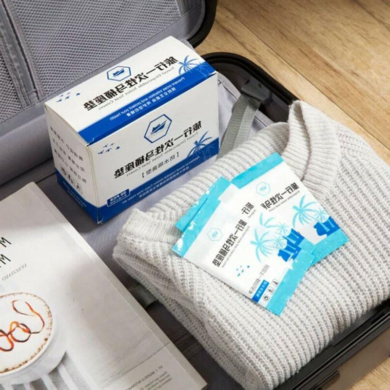 50pcs Toilet Covers Paper Travel Biodegradable Sanitary
