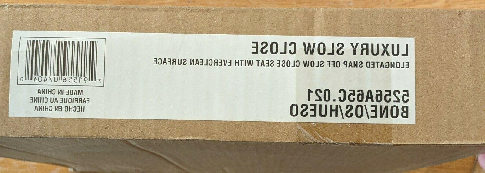American Standard 5256A.65C.021 Luxury Slow Close Elongated