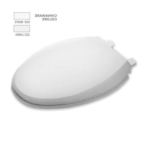 American 5257A.65C.020 Elongated Plastic Front Toilet Seat Cover