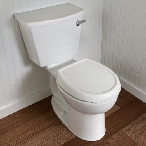 American Standard 5345.110.020 Round Toilet Surface, White