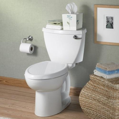 American Standard Round Front Slow Toilet with Surface,