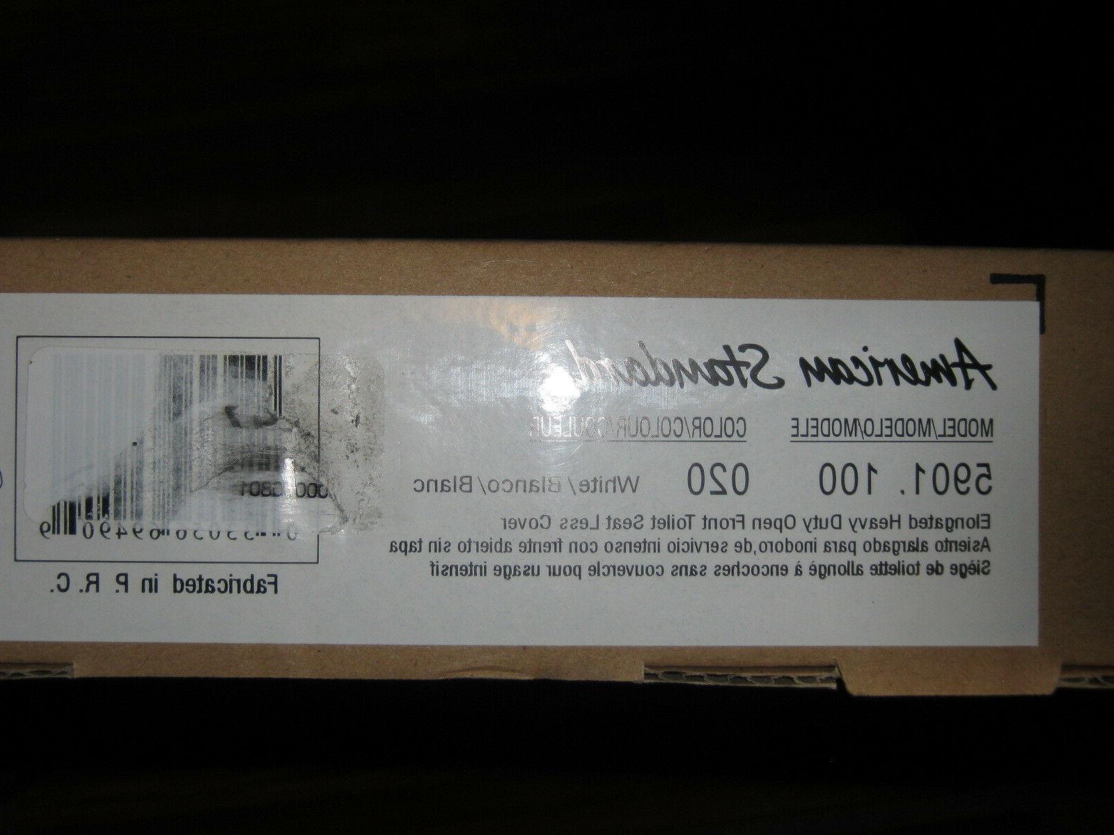 American Standard 5901.100.020 Heavy-Duty Elongated Commerci
