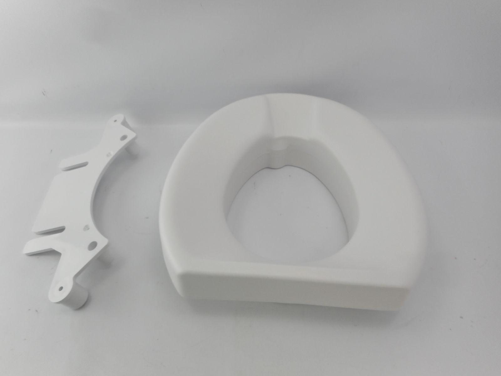 725831002 2in elevated toilet seat for both