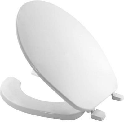 75 000 Commercial Open Front Toilet Seat with Cover ROUND Pl
