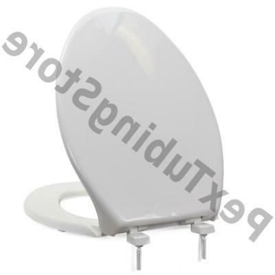 Bemis 7800TDG  Hospitality Plastic Elongated Toilet Seat