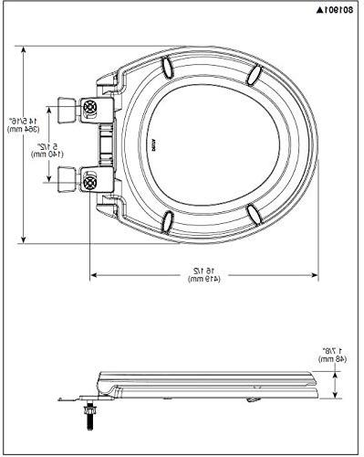 Round Front Slow-Close Toilet Bumpers,