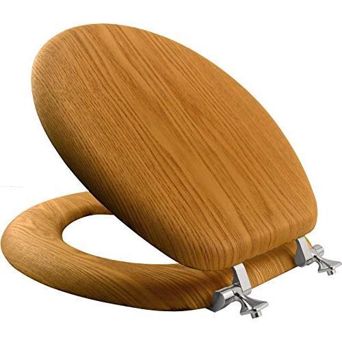 Mayfair Seat Round, Natural Oak Veneer, 9601CP
