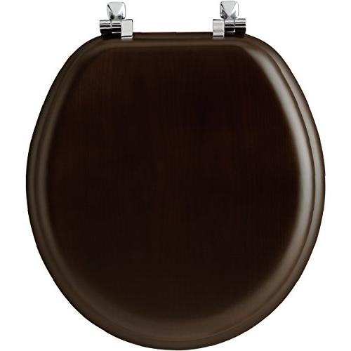 Mayfair Natural Toilet Seat with Chrome 888