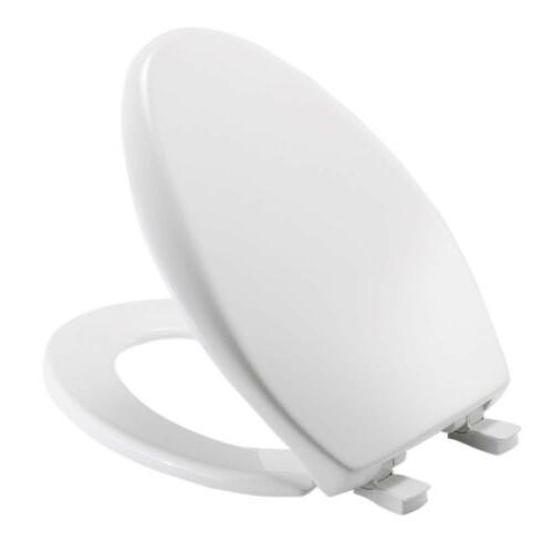 Bemis Adjustable StaTite Round Front Toilet Seat Whisper Clo