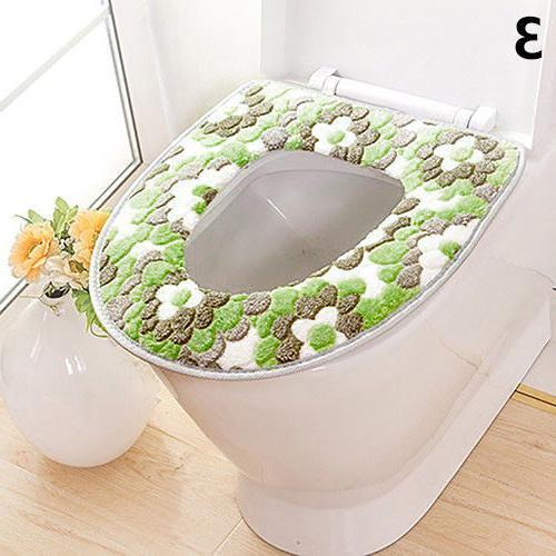 AG_ Soft Warm Cover Seat Cushion Bathroom