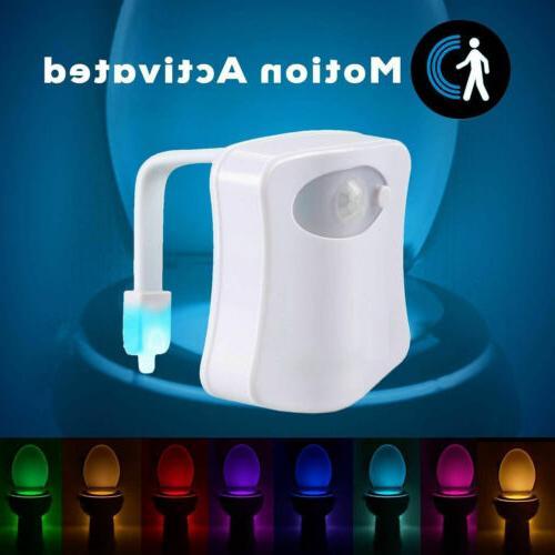 Automatic Colors Toilet Night Sensor Seat