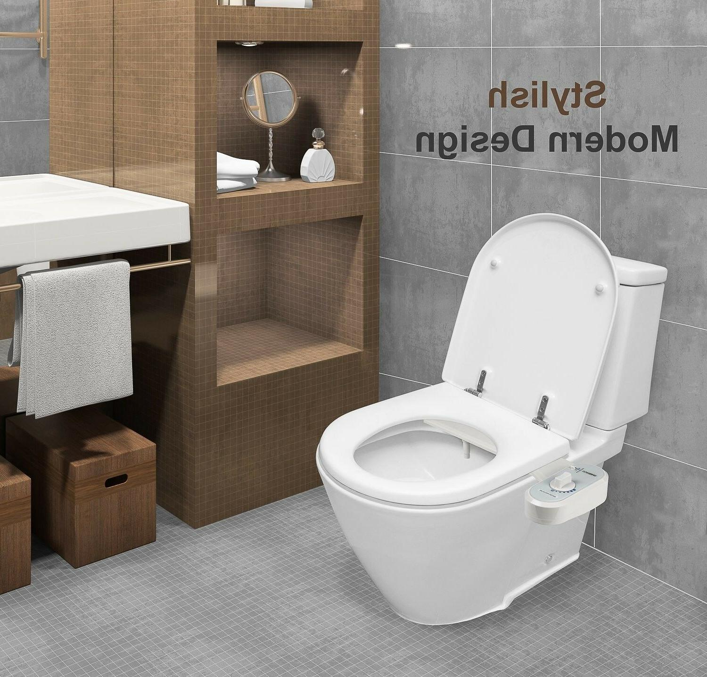 bathroom bidet toilet seat attachment