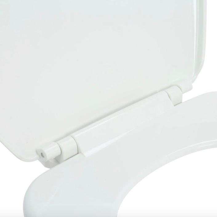 Bathroom Round Closed Toilet Cover Hardware