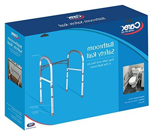 Carex Toilet Toilet For and Handicap, Bathroom Safety Aid and Handrail