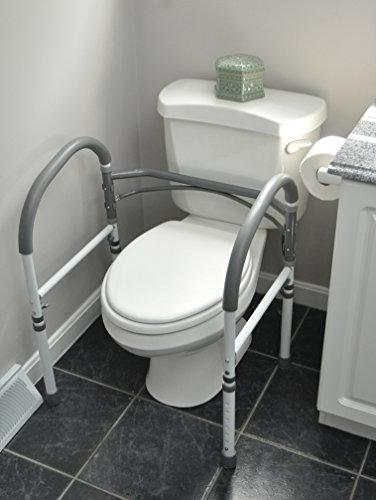 Carex Safety Toilet For and Aid Handrail