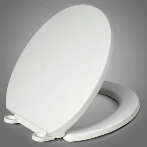 closed front toilet seat round replacement durable