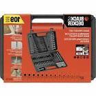 Black & Decker BDA91109 Combination Accessory Set 109pc Deta