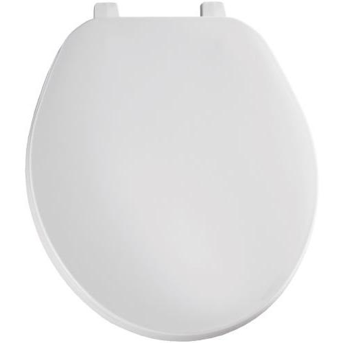 Bemis B70000 Round Closed Front Toilet Seat with Cover in Wh