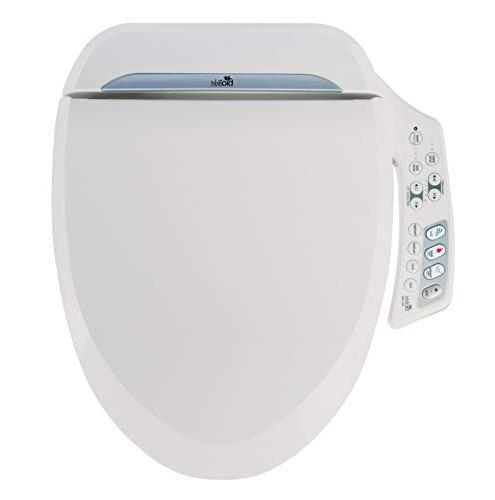 Bio Bidet Ultimate Advanced Bidet Round White. Easy Installation, Features Side Panel Include: Adjustable Heated Seat and Dual and Save is