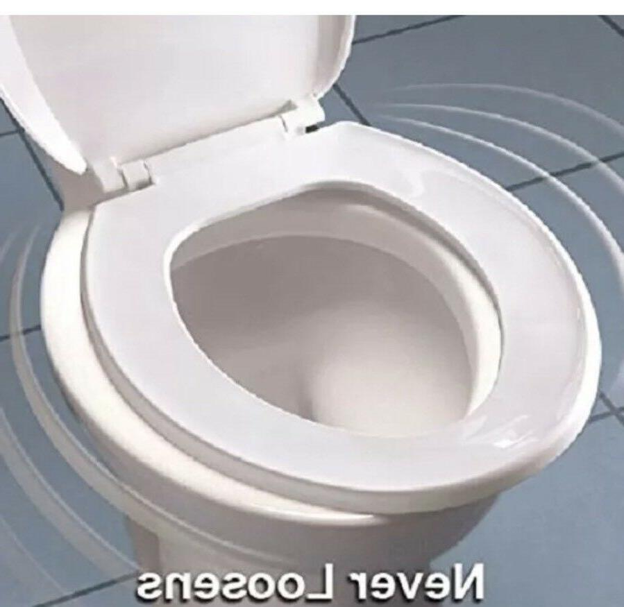 Brilliant Mayfair Biscuit Elongated Wood Whisper Close Toilet Seat Opened Gmtry Best Dining Table And Chair Ideas Images Gmtryco