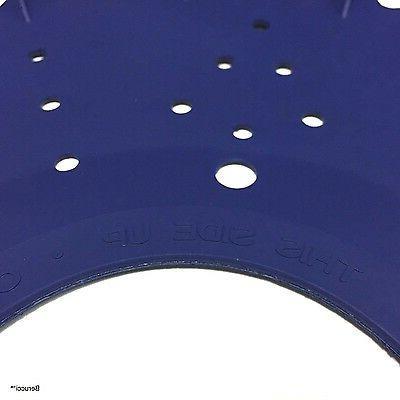 Blue Finned Disc Seal Skirt Foot Diaphragm