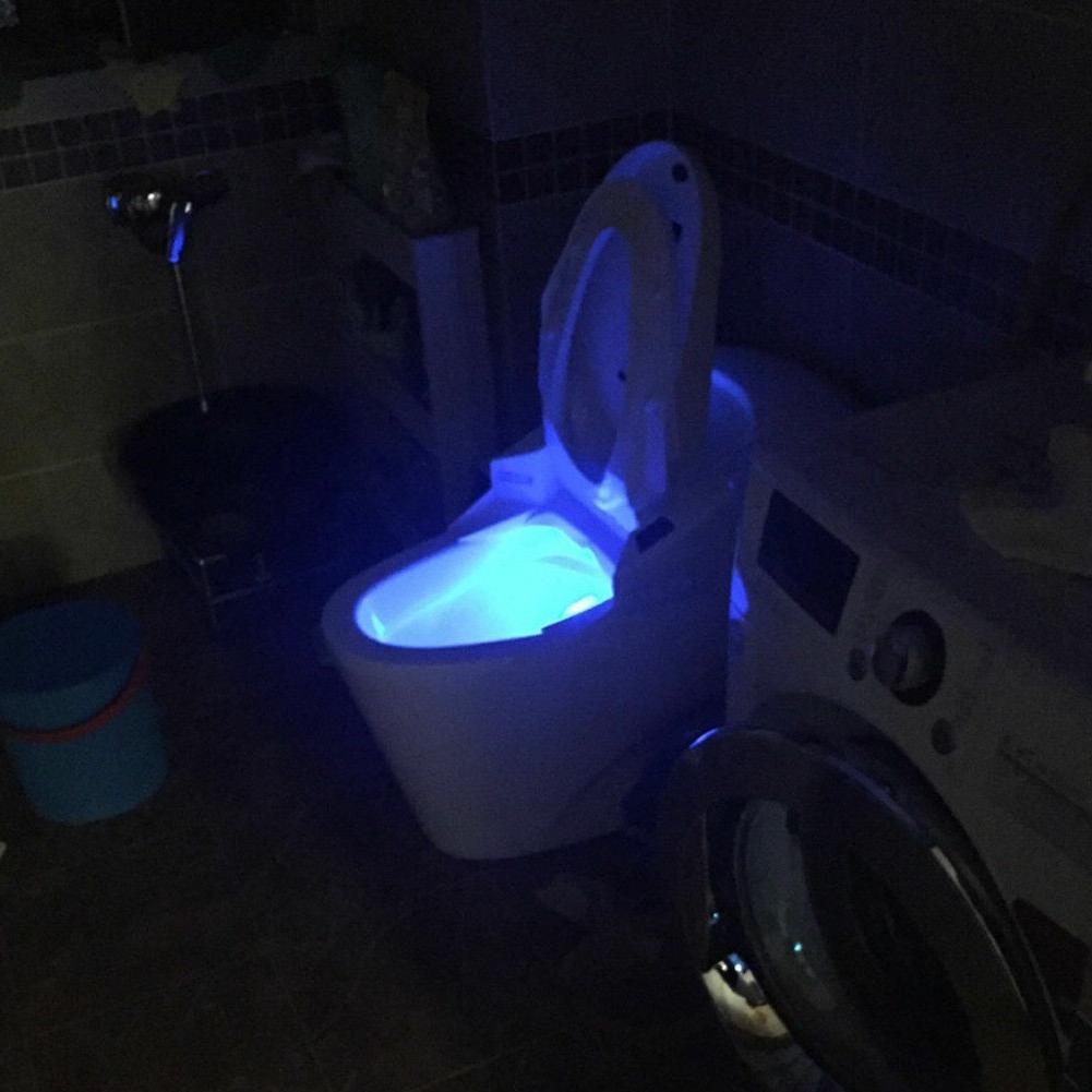 Toilet Light 8 Color Motion Sensor Bathroom Lamp