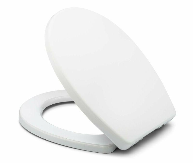 Bath Royale Br283-00 Mastersuite Round Toilet Seat With Cove